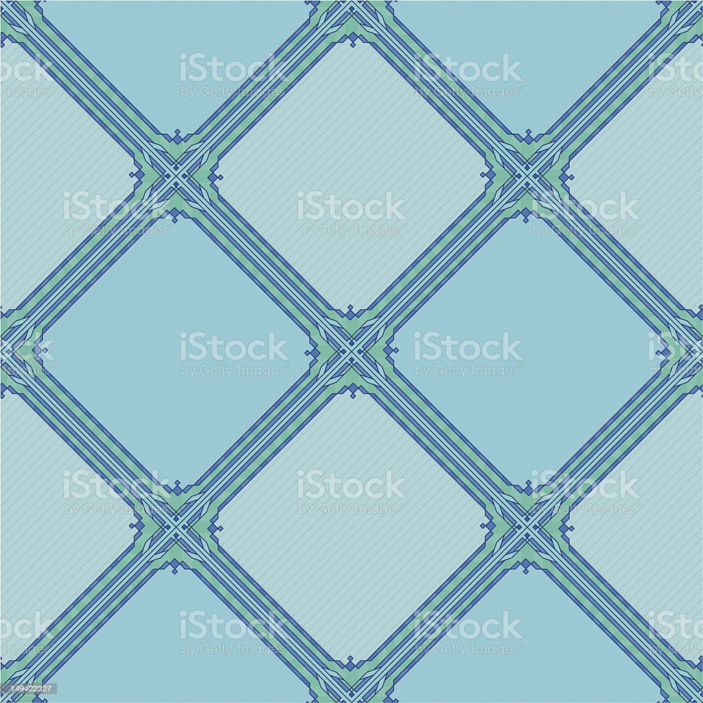 Abstract background seamless, blue royalty-free stock vector art