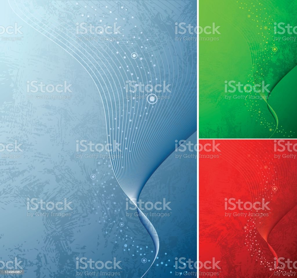 Abstract background set royalty-free stock vector art
