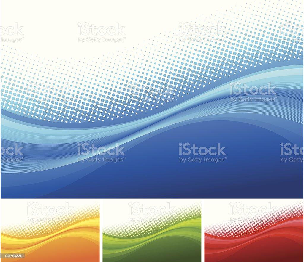 Abstract Background Set vector art illustration