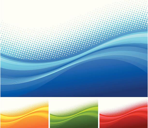 Abstrakt Hintergrund-Set – Vektorgrafik