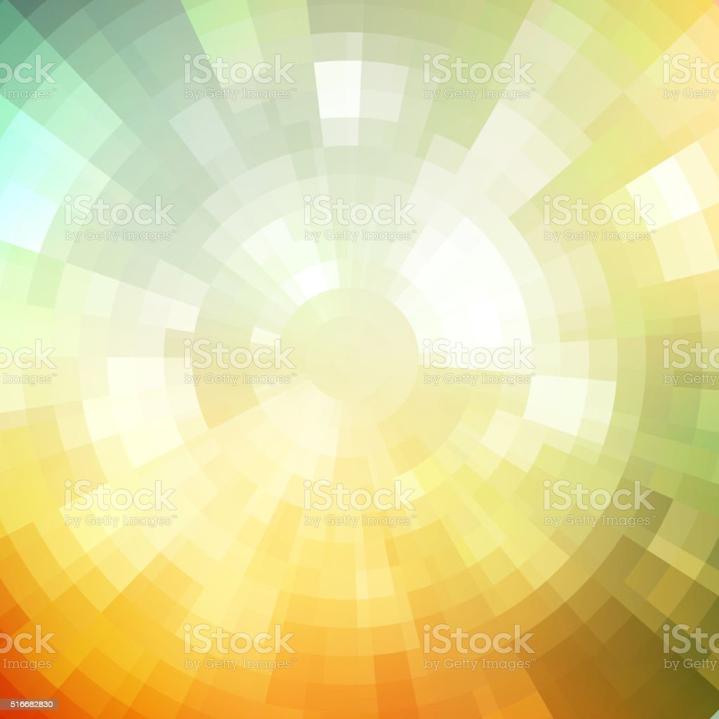 Abstract background shiny mosaic pattern Disco style.  For design party vector art illustration