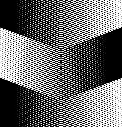 Abstract Background Slope Black Corner Lines