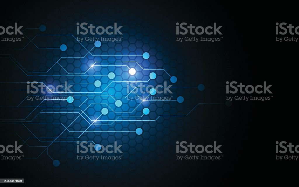 Abstract Background Technology Future Networking Innovation Circuit Pattern Design Concept Stock Illustration Download Image Now Istock