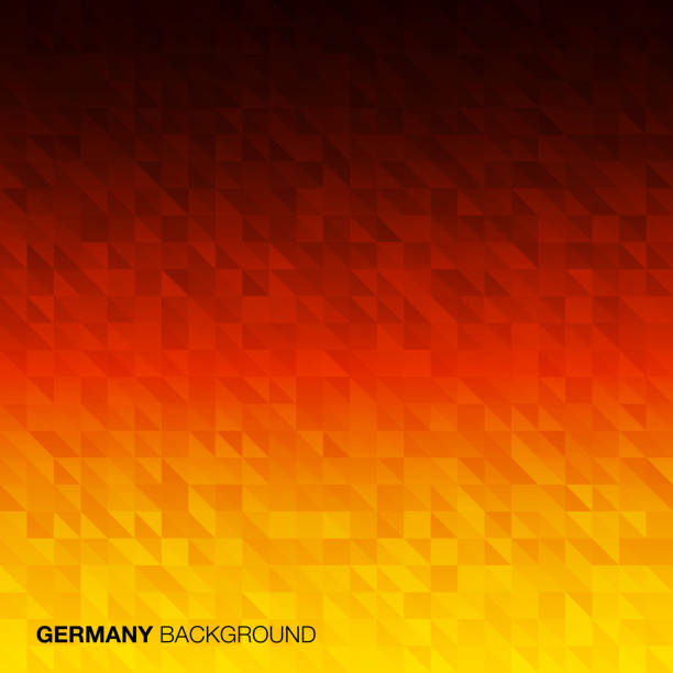 Abstract Background using Germany flag colors vector art illustration
