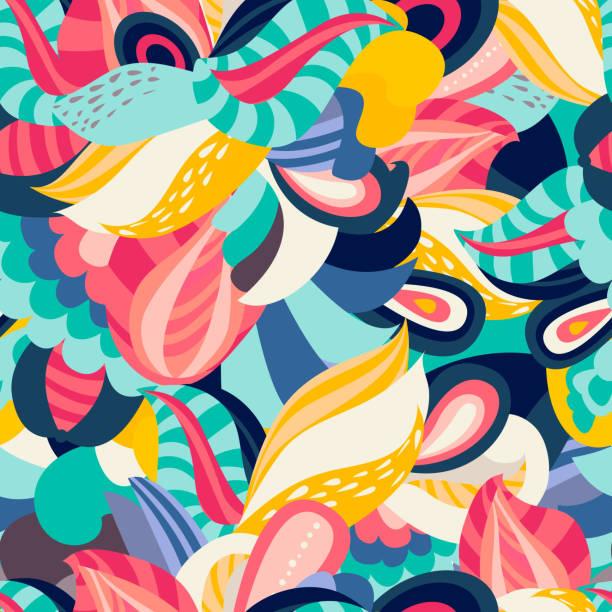 bildbanksillustrationer, clip art samt tecknat material och ikoner med abstrakt bakgrund - flerfärgad