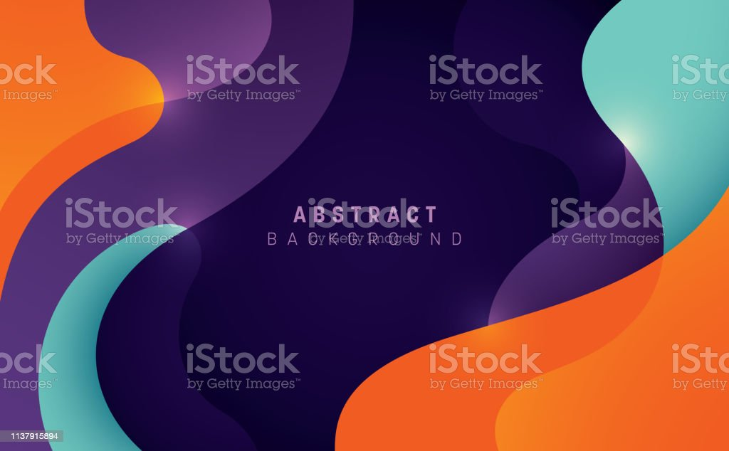 Abstract background. Abstract style wavy background design in color. Vector illustration. Abstract stock vector