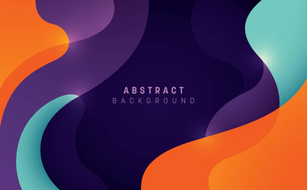 abstrakcyjne tło. - kolory stock illustrations