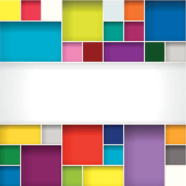 abstract background - blocks stock illustrations, clip art, cartoons, & icons