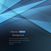 Abstract blue geo background with a space for your text. EPS 10 vector illustration, contains transparencies. High resolution jpeg file included(300dpi).