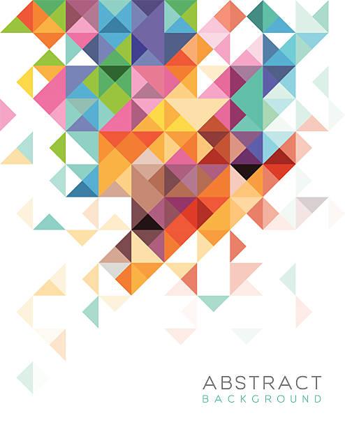 tło abstrakcyjne - kolory stock illustrations