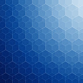 Abstract blue mosaic background with a space for your text. EPS 10 vector illustration, contains transparencies. High resolution jpeg file included(300dpi).
