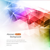 Abstract multicolored modern geometric background with a space for your text. EPS 10 vector illustration, contains transparencies. High resolution jpeg file included(300dpi).