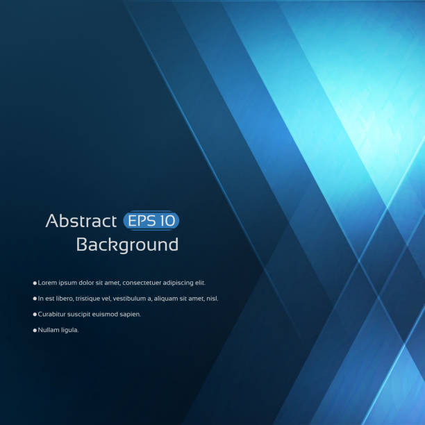 abstract background - dark blue stock illustrations