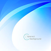 Abstract blue wave background with a space for your text. EPS 10 vector illustration, contains transparencies. High resolution jpeg file included(300dpi).