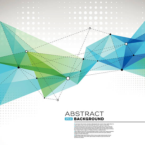 abstract  background - polygon background stock illustrations