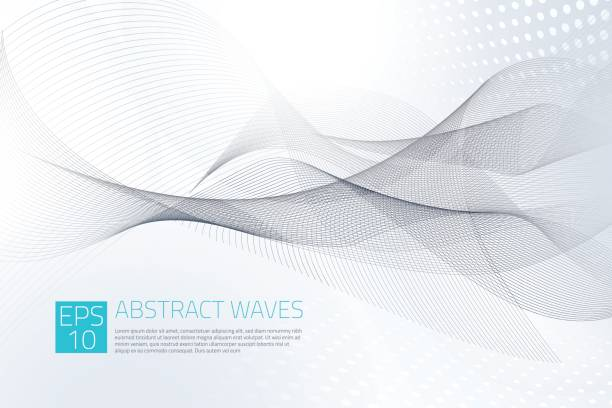 abstract background - sine wave stock illustrations