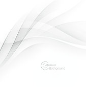 Abstract modern white waves background with a space for your text. EPS 10 vector illustration, contains transparencies. High resolution jpeg file included.