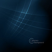 Abstract modern blue wave background with a space for your text. EPS 10 vector illustration, contains transparencies. High resolution jpeg file included.