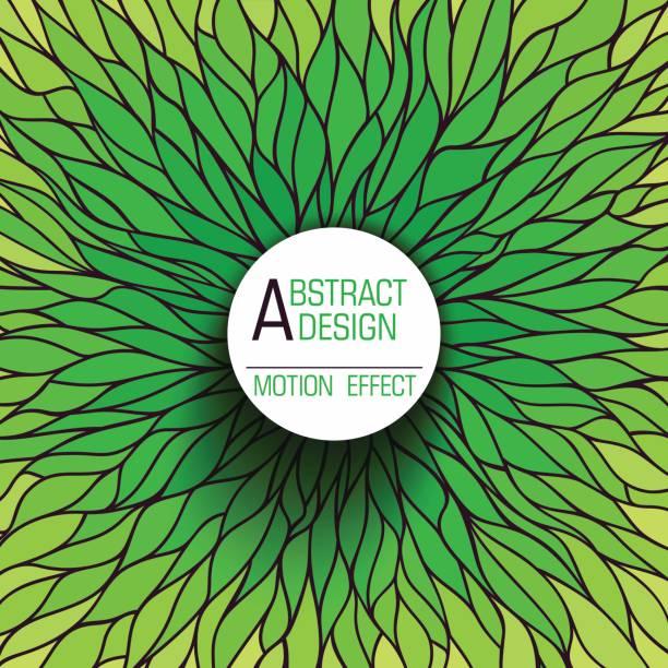 抽象背景 - 葉狀花紋 幅插畫檔、美工圖案、卡通及圖標