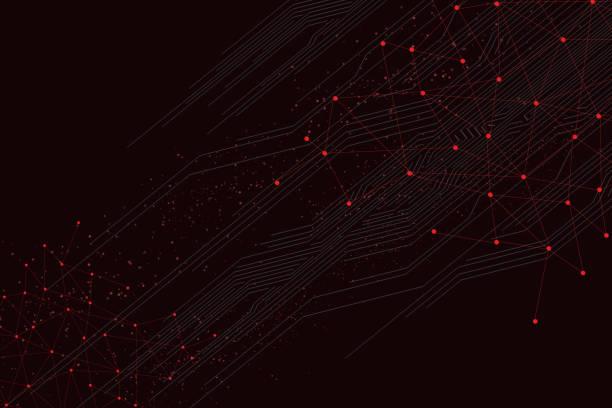 ilustrações de stock, clip art, desenhos animados e ícones de abstract background - vr red background