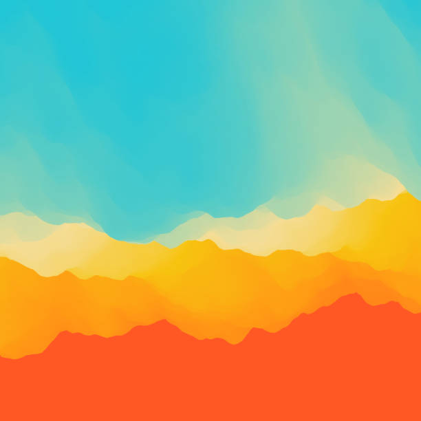 abstract background. vector illustration. - desert stock illustrations