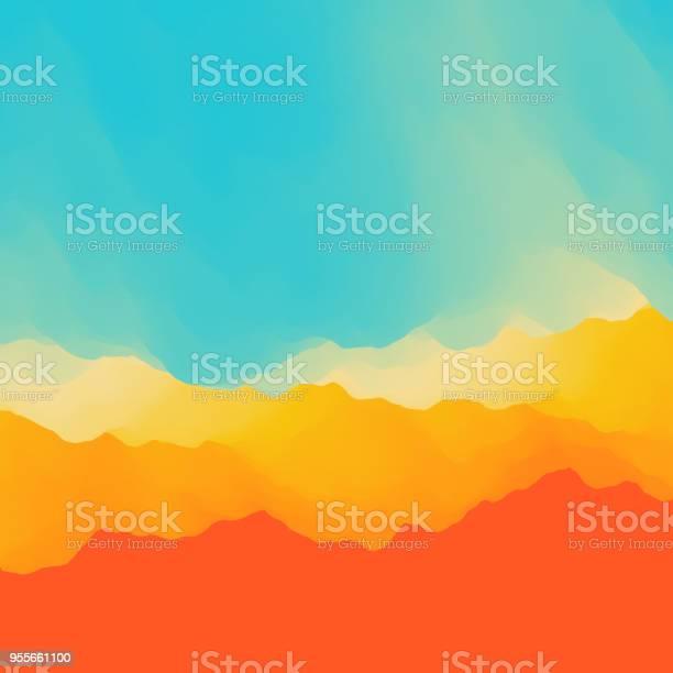 Abstract Background Vector Illustration - Immagini vettoriali stock e altre immagini di Affari
