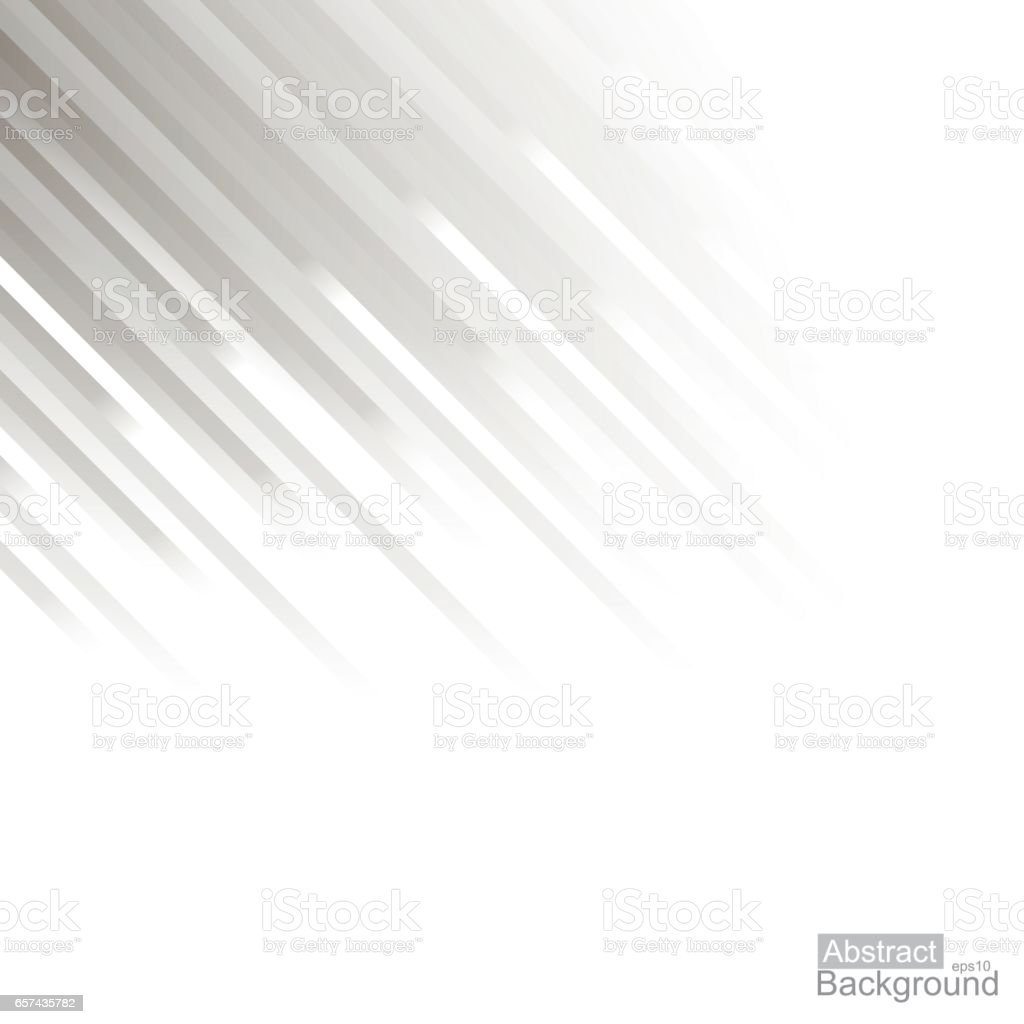 Abstract background. White striped copyspace. vector art illustration