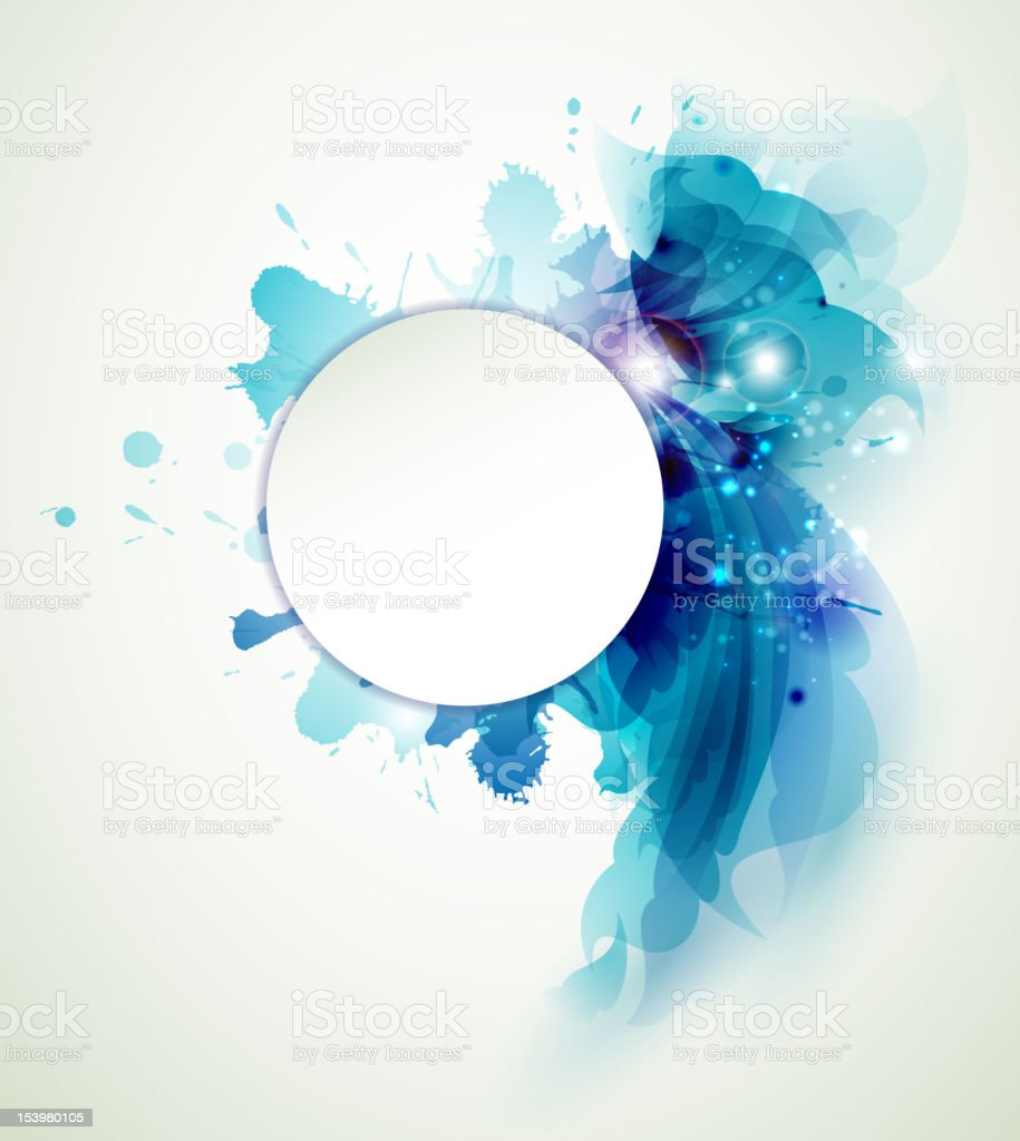 Abstract  background with blue elements royalty-free abstract background with blue elements stock vector art & more images of abstract