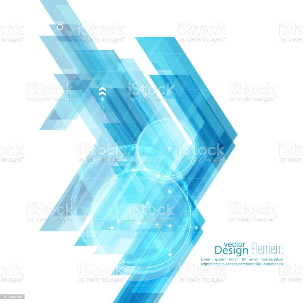 Fundo abstrato com listras azuis - ilustração de arte em vetor