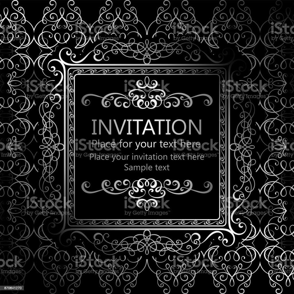 zusammenfassung hintergrund mit kalligraphischen luxus. Black Bedroom Furniture Sets. Home Design Ideas