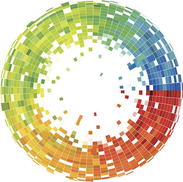 ilustraciones, imágenes clip art, dibujos animados e iconos de stock de fondo abstracto con patrón de mosaico control - fondos mosaicos
