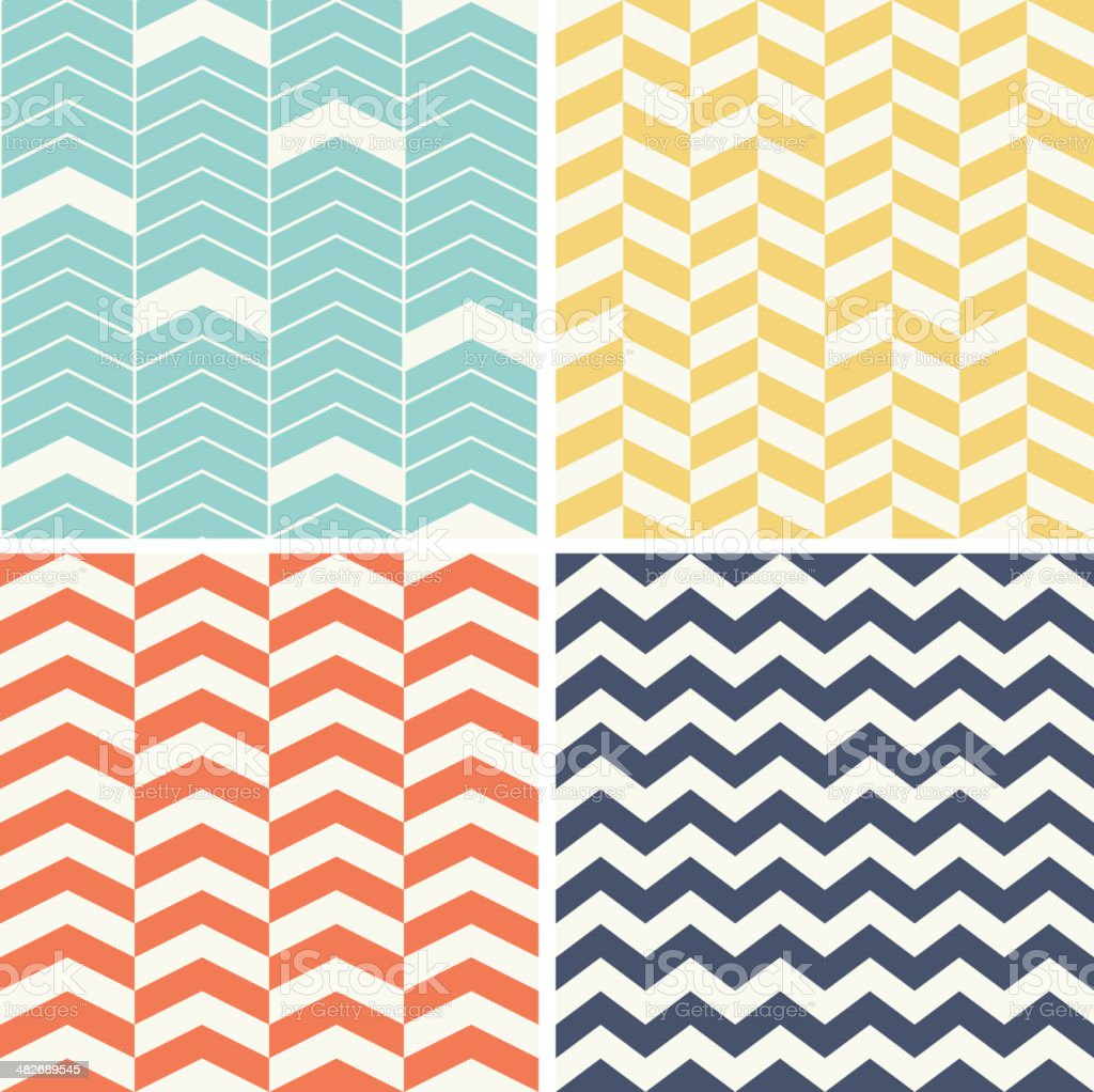 Abstract background with chevron patterns royalty-free abstract background with chevron patterns stock vector art & more images of blue
