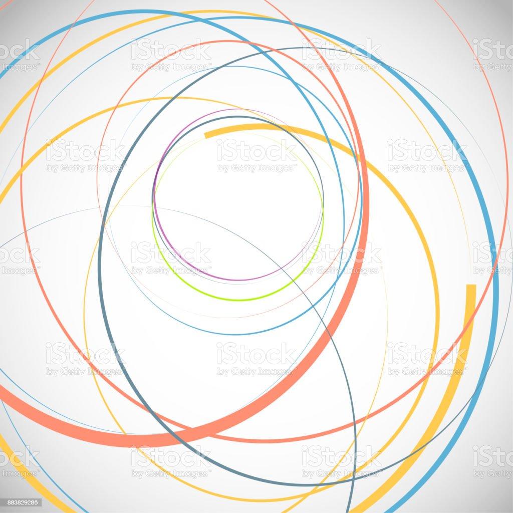 抽象的な背景、円形 ロイヤリティフリー抽象的な背景円形 - つながりのベクターアート素材や画像を多数ご用意