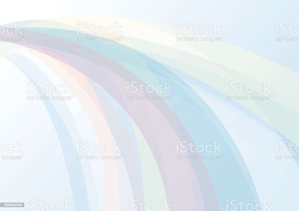 Abstract background with colorful curve light vector art illustration