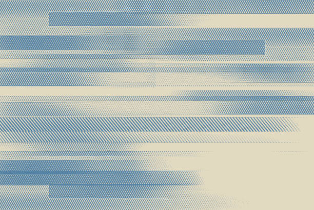 Abstract background with colorful horizontal bars Abstract background with colorful horizontal bars modern art stock illustrations