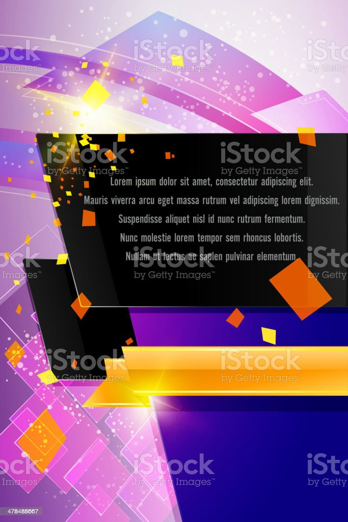 Abstract Background with Copy space royalty-free abstract background with copy space stock vector art & more images of abstract