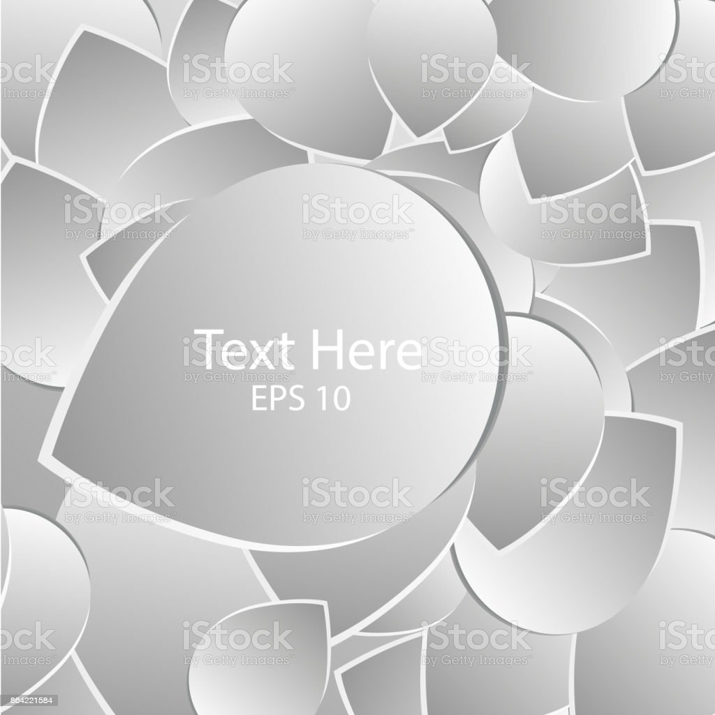 Abstract background with drop shadows. Paper petal Vector illustration royalty-free abstract background with drop shadows paper petal vector illustration stock vector art & more images of abstract