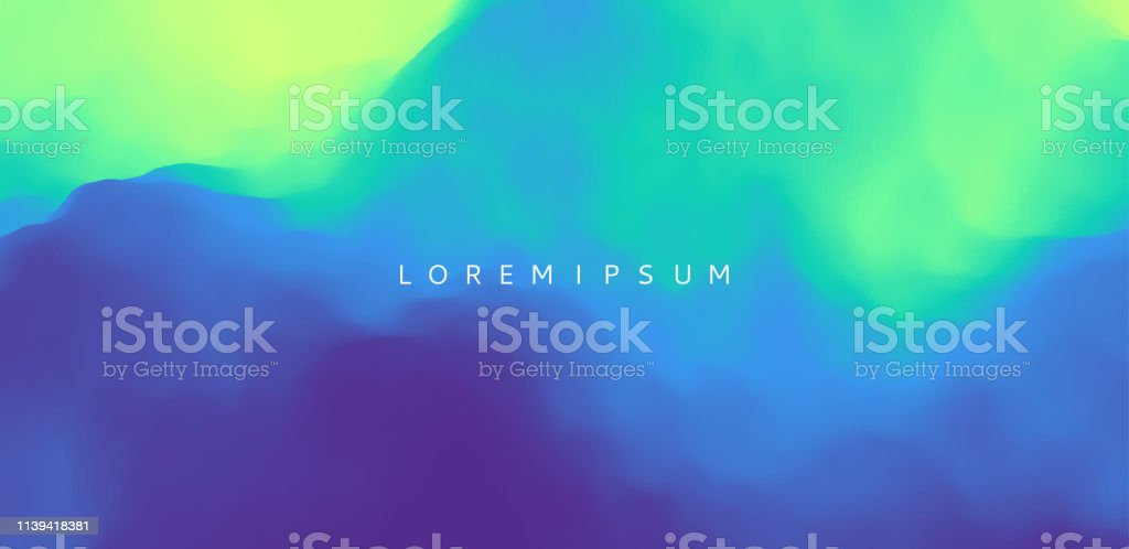 Abstract background with dynamic effect. Motion vector Illustration. Trendy gradients. Can be used for advertising, marketing, presentation. - Векторная графика Абстрактный роялти-фри