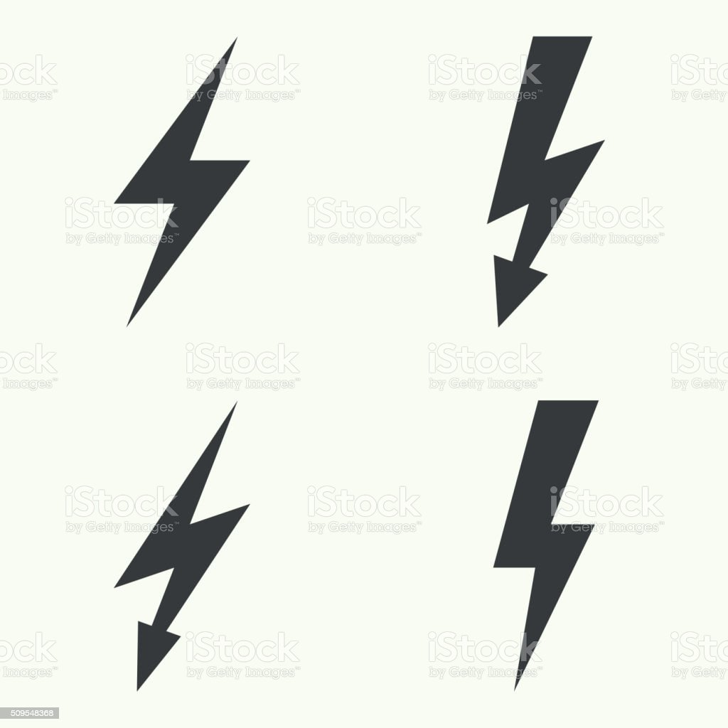 abstract background with electric lightning stock vector art more rh istockphoto com lightning vector black and white lightning vector black and white