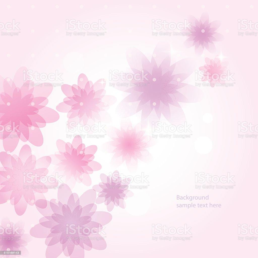 抽象的な背景花 のイラスト素材 515169143 | istock