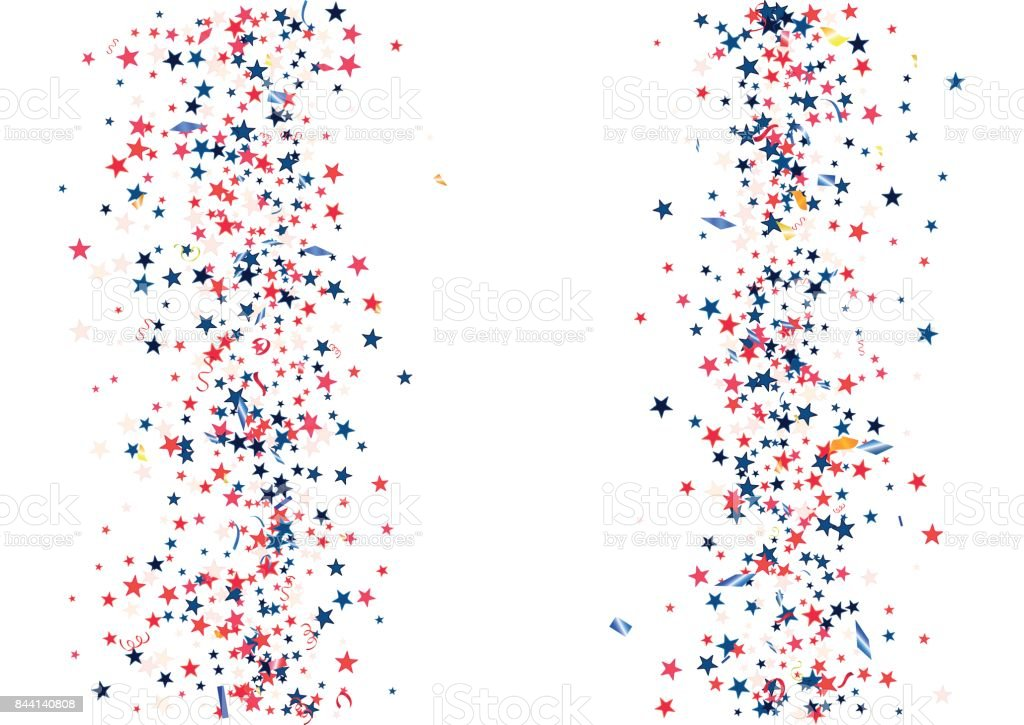 royalty free red white and blue ribbon clip art  vector