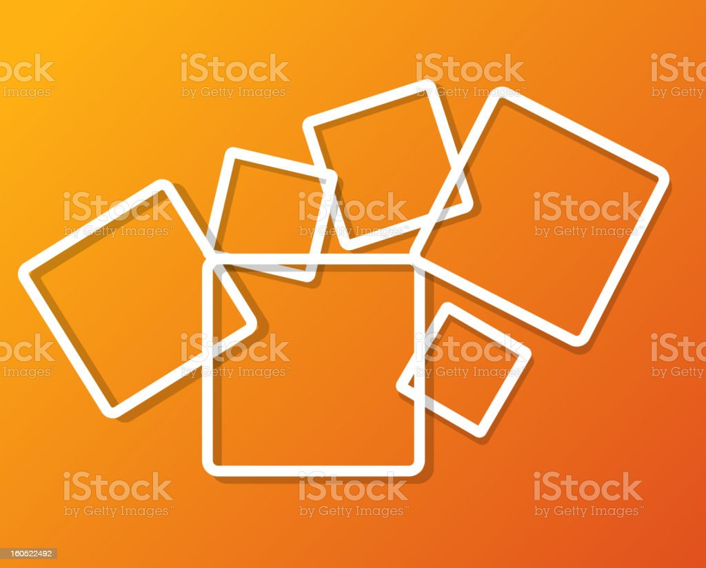Abstract background with frames vector illustration royalty-free abstract background with frames vector illustration stock vector art & more images of abstract
