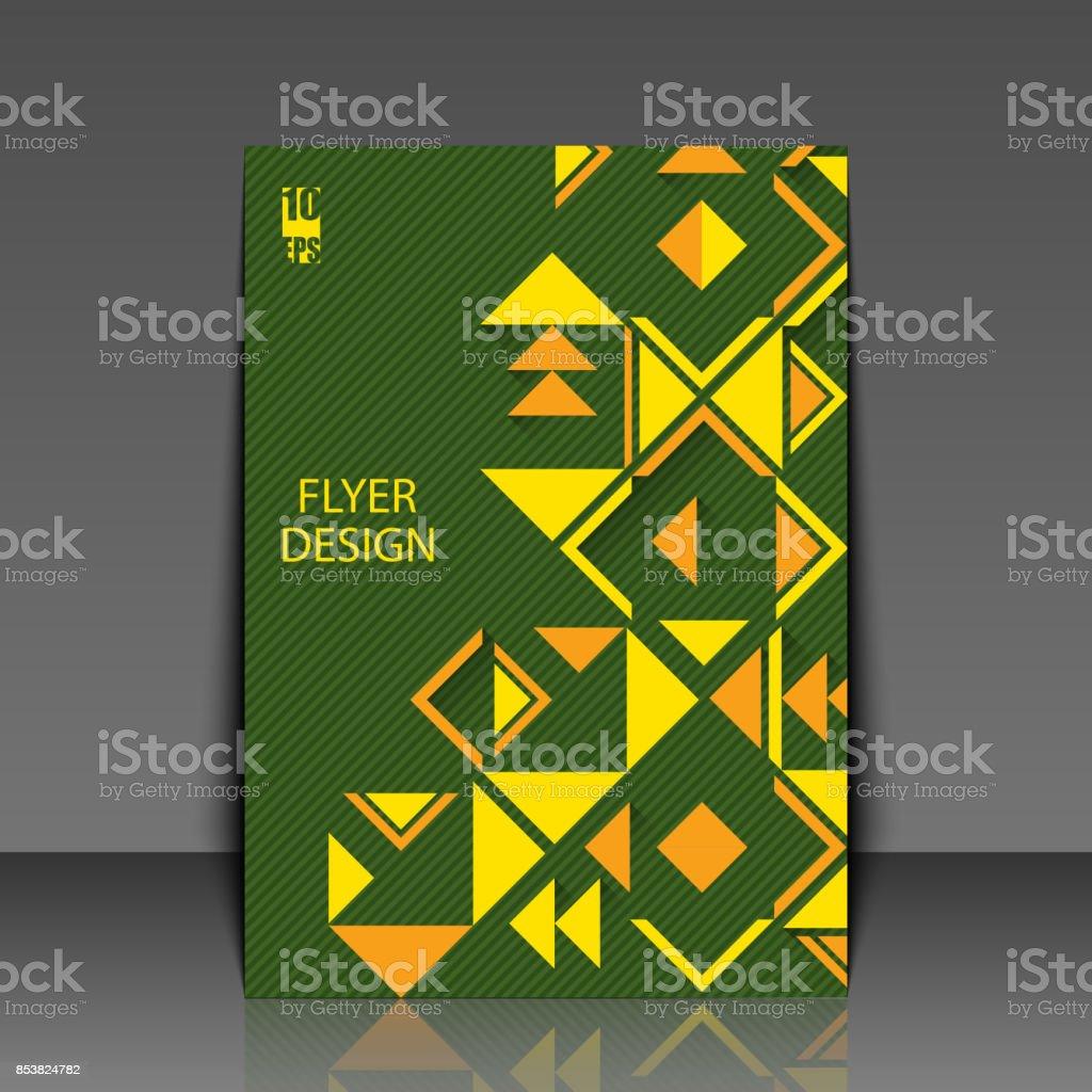 Zusammenfassung Hintergrund Mit Geometrischen Ethnische Muster