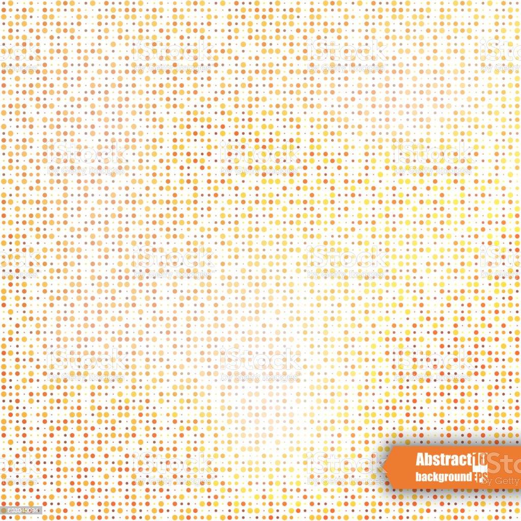 Zusammenfassung Hintergrund Mit Geometrischem Muster Eps10