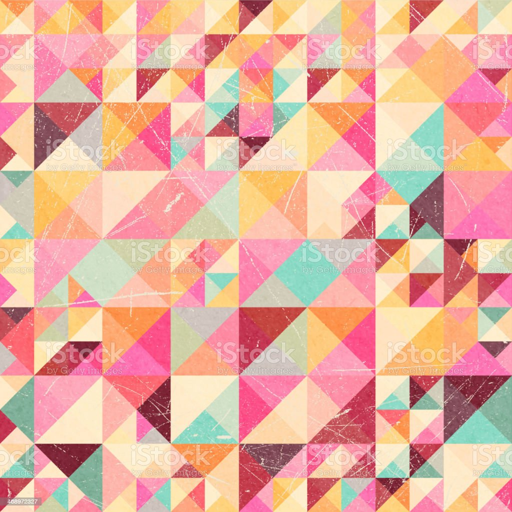Abstract background with geometric shapes royalty-free stock vector art