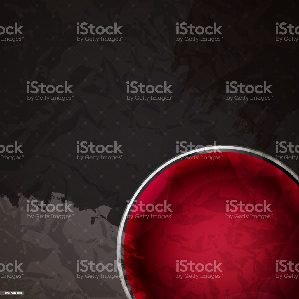 Abstract background with glass balls as vector speech bubble royalty-free stock vector art