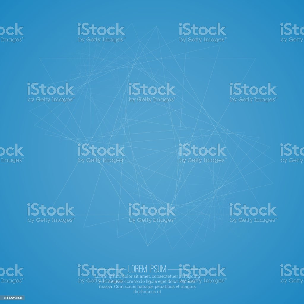 Abstract background with glowing spiral. vector art illustration