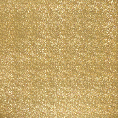 Abstract Background with Golden Glittering Brush Stroke. Gold Foil Shiny Grunge Texture.