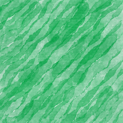 Abstract Background with Green Brush Stroke Texture. Watercolor Wave Grunge Texture. Green Texture Design Element for Marketing, Advertising, Presentation, Greeting Cards and Labels, Abstract Background.