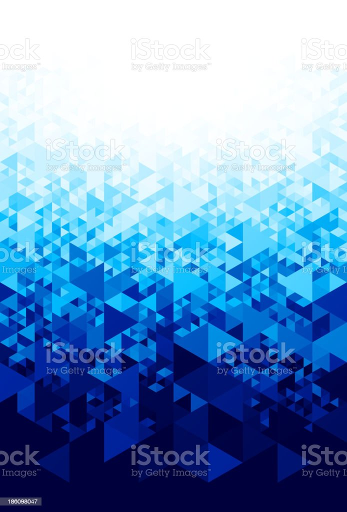 Abstract background with hexagons vector art illustration